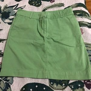 Vineyard Vines Green Khaki Shep & Ian Skirt Sz. 4